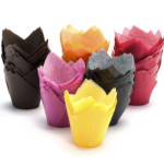 160x160x50mm Multi Coloured Muffin Wraps (4,800)