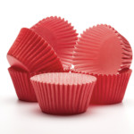 50mm X 38mm Red Cupcake Cases (360)
