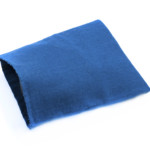 Blue Cotton Oven Gloves