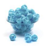 Clover Hill Wafer Roses Med Blue (100 pieces)