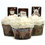 Snow Scene Queen Cake Cases 45 x 25mm (500)