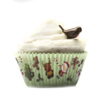 Merry Christmas Muffin Cases 50 x 38mm (500)