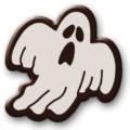 Halloween Dark Chocolate Ghost (54)