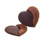 Double Love Duo (Dark & Milk) Chocolate Hearts (240) 35mm