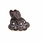 Easter Bunny Dark Chocolate (140 pack) 26mm x 41mm