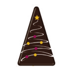 Triangle Chocolate Christmas Tree (153)