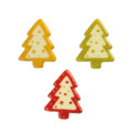 White Chocolate Christmas Tree Selection 34mm x 27mm (135)