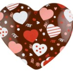 Dark Chocolate Hearts (54 Pack)