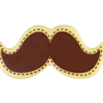White Chocolate Mustaches 60x30mm (60)
