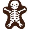 Halloween Dark Chocolate Skeleton (72 Pack)