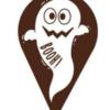 Halloween Dark Chocolate Ghost (135 Pack)