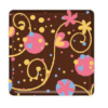 Dark Chocolate Party  Square (135 pack)