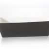 Black Cardboard Baking Tray 160 x 70 x 55mm