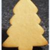 Gingerbread Christmas Trees 135mm x 110mm (105pk)