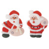 2D Sugar Santa with Bag 40mm x 50mm (2pk) 60