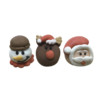3D Sugar Christmas Items 22mm (3pk) 42
