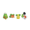 2D Christmas Sugar Assortment 20mm (4pk) 221
