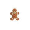 Sugar Gingerbread Man 30mm x 35mm (144)