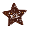 Dark Chocolate 2020 Star 40mm (84)