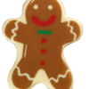 White Chocolate Gingerbread Man 46mm x 36.6mm (72)