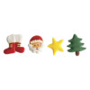 White Chocolate Christmas Assortments 27mm (4pk) (224)