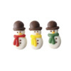 White Chocolate Snowmen 15mm x 30mm (3pk) (144)