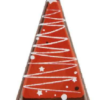 Dark Chocolate Christmas Tree 30mm x 47mm (153pk)