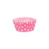 Pink Polka Dot case 50 x 30mm (100)