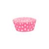Pink Polka Dot case 50 x 30mm (100)