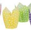 4 colour Polka Dot Tulip Cups (1000)