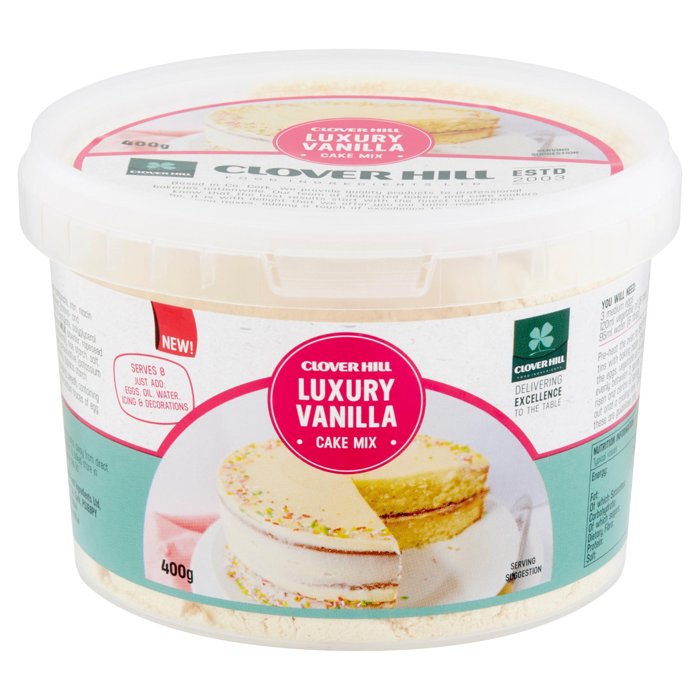 Luxury Vamilla Cake Mix