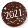 Dark Chocolate 2021 Circle 30mm (135)