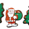 Assorted Dark Chocolate Xmas Figures 53 x 42mm (54)