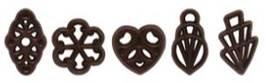 Assorted Dark Chocolate Fans 725g (550)